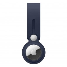 Чохол-брелок ArmorStandart для AirTag Silicone Loop with Button Dark Blue (ARM58924)