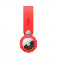 Чохол-брелок ArmorStandart для AirTag Silicone Loop with Button Red (ARM58925)