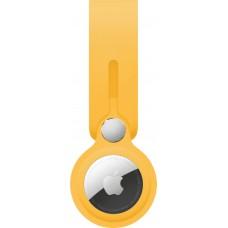 Чохол-брелок ArmorStandart для AirTag Silicone Loop with Button Yellow (ARM58926)