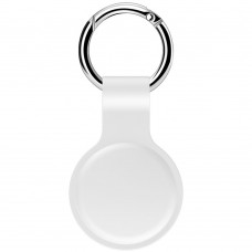 Чохол-брелок ArmorStandart для AirTag Silicone Ring Pearl white (ARM58929)