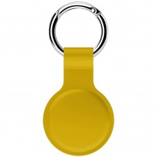 Чохол-брелок ArmorStandart для AirTag Silicone Ring Sun yellow (ARM59000)
