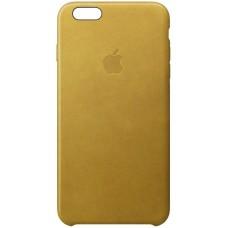 Чехол Apple iPhone 6S Leather Case Gold