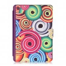 Чехол Leather Case for Amazon Kindle 6 (7gen) Hypnotic