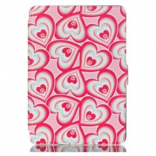 Чехол Leather Case for Amazon Kindle 6 (7gen) Hearts
