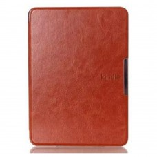Чехол Leather case for Amazon Kindle 6 (7gen) Brown