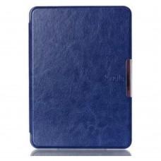 Чехол Leather case for Amazon Kindle 6 (7gen) Dark Blue