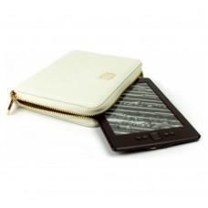 Универсальный кожаный чехол Wallet Style для планшетов/книг Satin White (MB30465)