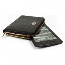 Универсальный кожаный чехол Wallet Style для планшетов/книг Soul Black (MB30464)
