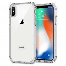 Чехол на телефон Spigen Case Crystal Shell for iPhone X Crystal Clear (057CS22141)