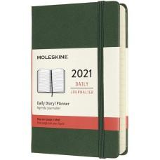 Щоденник Moleskine 2021 кишеньковий / Миртовий Зелений
