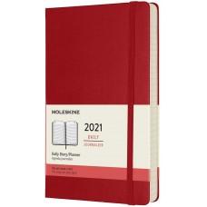 Щоденник Moleskine 2021 середній / Червоний