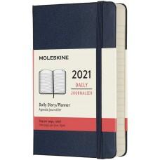 Щоденник Moleskine 2021 кишеньковий / Сапфір