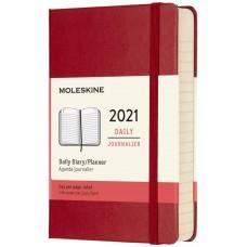 Щоденник Moleskine 2021 кишеньковий / Червоний (DHF212DC2Y21)