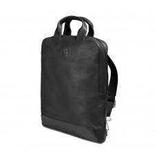 "Сумка Moleskine Classic Device Bag 15"" / Вертикальна Чорна Шкіряна"