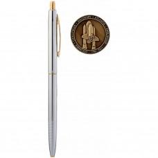 Авторучка Fisher Space Pen Шаттл пам'ятний випуск з монетою / CH4-CES (CH4-CES)