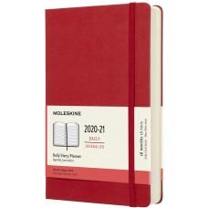 Щоденник Moleskine 2020-2021 середній Червоний (DHF218DC3Y21)