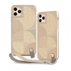 Чехол Moshi Altra Slim Case with Wrist Strap Sahara Beige for iPhone 11 Pro Max (99MO117305)