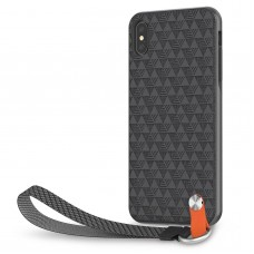 Чехол Moshi Altra Slim Hardshell Case With Strap Shadow Black for iPhone XS Max (99MO117002)