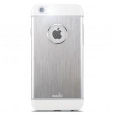 Чехол-накладка Moshi iGlaze Armour Metal Case Silver for iPhone SE/5/5S (99MO061201)