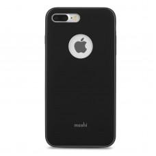 Чехол для смартфона Moshi iGlaze Slim Lightweight Snap-On Case Metro Black for iPhone 8 Plus/7 Plus (99MO090002)
