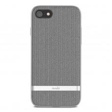 Чехол Moshi Vesta Textured Hardshell Case Herringbone Gray for iPhone 8/7 (99MO088011)