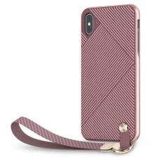 Чехол Moshi Altra Slim Hardshell Case With Strap Blossom Pink for iPhone XS Max (99MO117302)