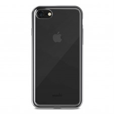 Чехол Moshi Vitros Clear Protective Case Raven Black for iPhone 8/7 (99MO103032)
