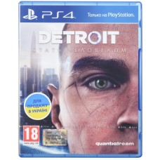 PS4 Detroit: Become Human PS4 [Blu-Ray диск]