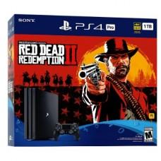 Игровая приставка Sony Playstation 4 Pro 1TB + Red Dead Redemption 2