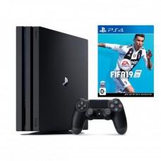 Ігрова приставка Sony PlayStation 4 Pro 1TB + FIFA 19