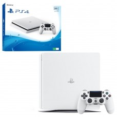 Ігрова приставка Sony PlayStation 4 Slim (PS4 Slim) 500GB White