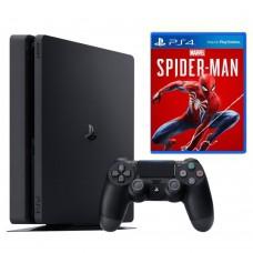 Игровая приставка Sony Playstation 4 Slim (PS4 Slim) 1TB + Spider-Man