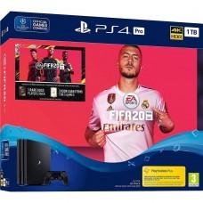 Стаціонарна ігрова приставка Sony Playstation 4 Pro 1TB + FIFA 20
