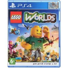 Игра PS4 LEGO Worlds [Blu-Ray диск]
