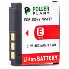 Aккумулятор PowerPlant Sony NP-FE1 850mAh (DV00DV1062)