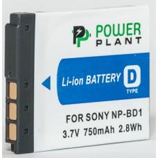 Aккумулятор PowerPlant Sony NP-BD1, NP-FD1 750mAh (DV00DV1204)
