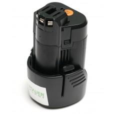Аккумулятор PowerPlant для шуруповертов и электроинструментов BOSCH GD-BOS-10.8 10.8V 2Ah Li-Ion (DV00PT0001)