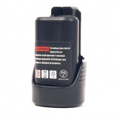 Аккумулятор PowerPlant для шуруповертов и электроинструментов BOSCH GD-BOS-10.8(B) 12V 2Ah Li-Ion (DV00PT0002)