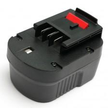 Аккумулятор PowerPlant для шуруповертов и электроинструментов BLACK&DECKER GD-BD-12(B) 12V 2Ah NICD (DV00PT0025)