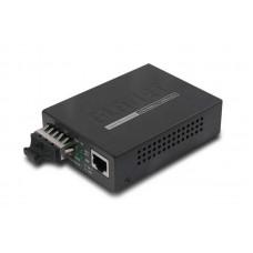 Медиаконвертер Planet GT-802S (10/100/1000Base-T to 1000Base-LX SC,SM)