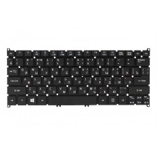 Клавиатура для ноутбука ACER Aspire S3, S5, One 756, TravelMate B1 черный, без фрейма