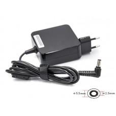Блок питания для ноутбуков PowerPlant ACER, ASUS 220V, 19V 65W 3.42A (5.5*2.5) wall mount (WM-AC65F5525)
