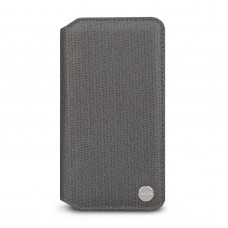 Чехол Moshi Overture Premium Wallet Case Herringbone Gray for iPhone XR (99MO091051)