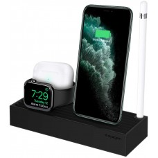 Док-станція Spigen 3 in 1 Apple Devices Stand S318, Black (000MP25254)