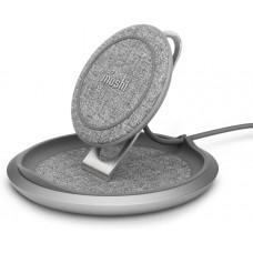 Бездротовий зарядний пристрій Moshi Lounge Q Wireless Charging Stand Nordic Gray (99MO022218)
