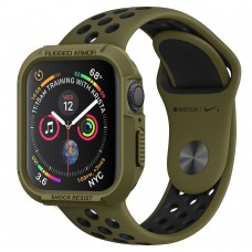 Чехол Spigen для Apple Watch 4 (44mm) Rugged Armor, Olive Green (062CS26015)