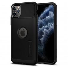 Чехол Spigen для iPhone 11 Pro Slim Armor, Black (077CS27099)