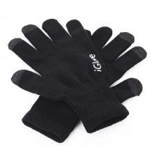 Перчатки для сенсорных экранов Touch iGloves Black