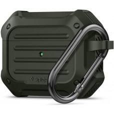 Чехол Spigen для Apple AirPods Pro Tough Armor, Military Green (ASD00539)