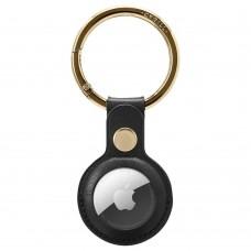Чохол Spigen для Apple AirTag - CYRILL Basic Leather, Black (AMP01836)
